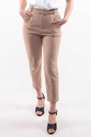 Women's High-Waist Solid Formal Pants By Attire Nepal